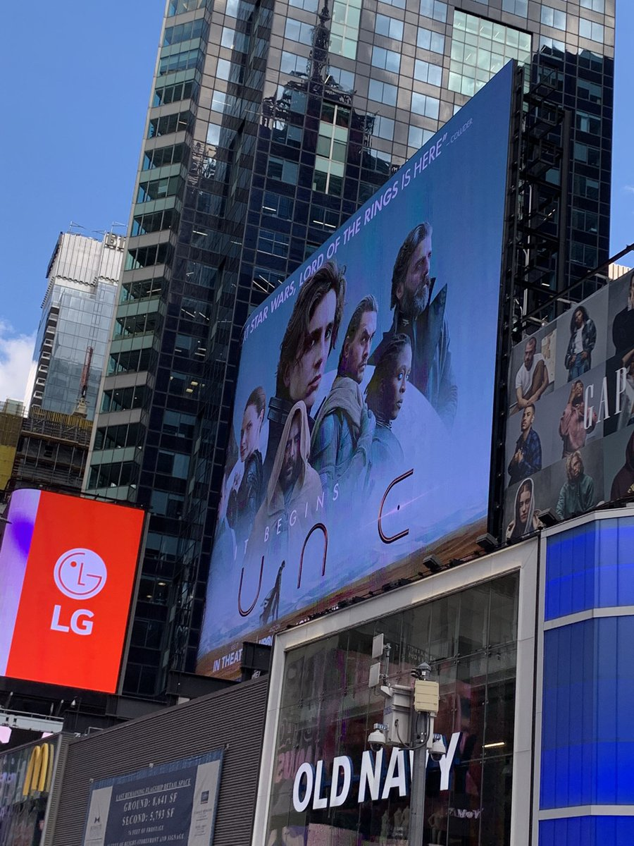 @RealChalamet i went to nyc today and saw ur pretty face on at least three billboards 🥰🥰