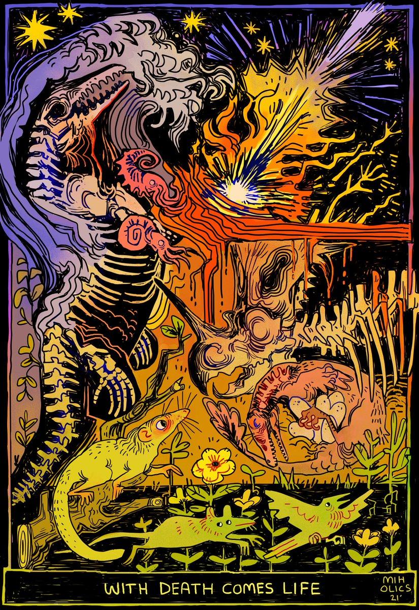 WITH DEATH COMES LIFE (Cretaceous-Paleogene Extinction Event) ((66.0 MYA))