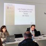 Image for the Tweet beginning: La professora Queralt Solé intervé