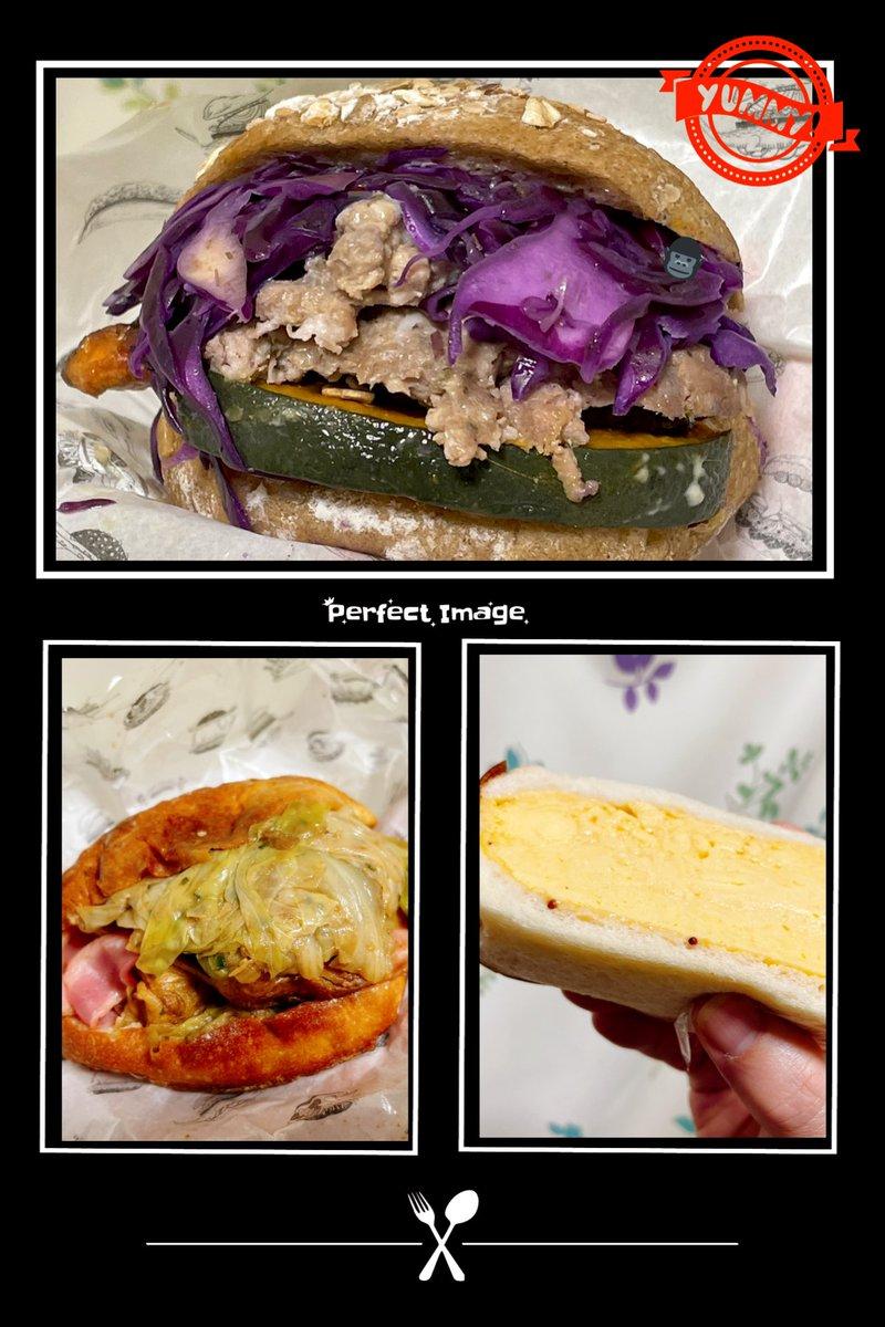 おっさんの遅い昼飯用足しについでに、気になっていたお店でテイクアウトしてきたった😤紫キャベツとかアンチョビのバーガーとか🤤💁♂️amam dacotan表参道店ご馳走さまでした🥱ウマカッタヨ♫#おっさんのメシ#趣味は料理#メシ垢トレーニー🤤