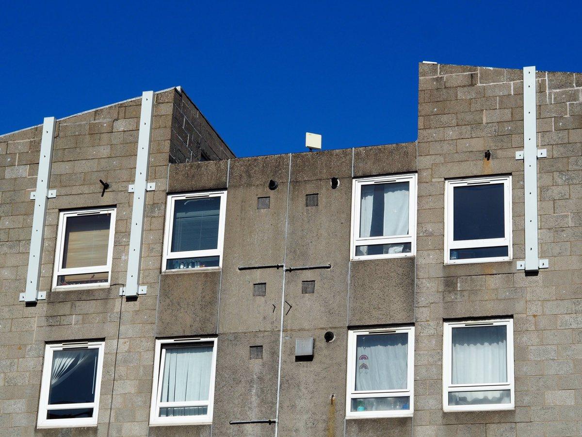 Carnegie Court in Edinburgh. (2021) Pic: Dave Lowe.