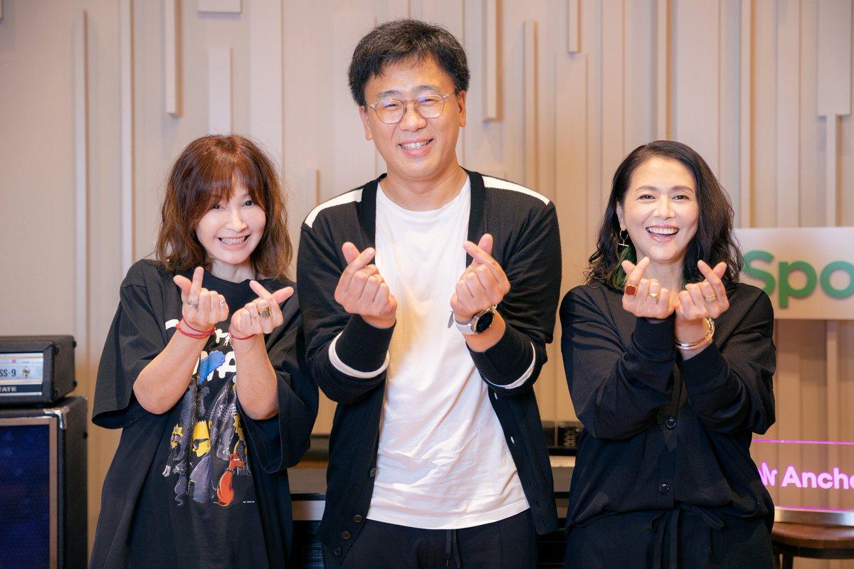 小泉今日子さんとYOUさんがSpotifyで配信している番組『小泉今日子とYOUのK-POP PARTY』に出演させて頂き今日から配信がスタートしました😊お二人とも実に詳しくて、そしてK-POP愛を感じるお話に、一ファンとして楽しい時間を過ごさせて頂きました🤓ぜひ聴いてみて下さい👋