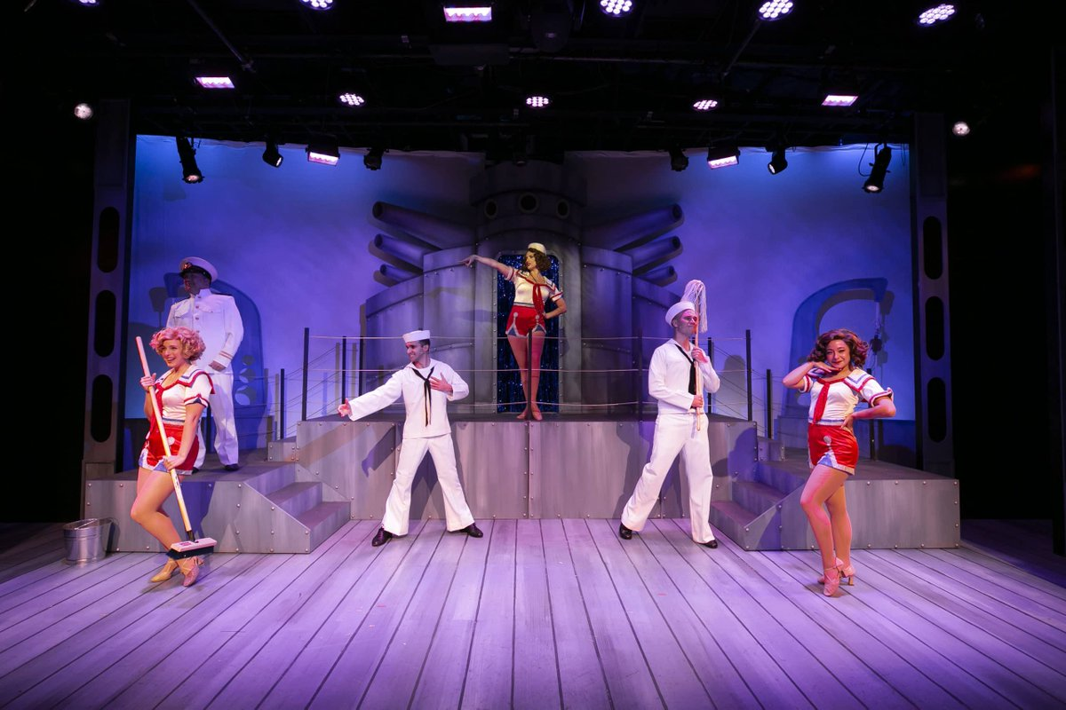 """""""freeFall Theatre is back in its element with Dames at Sea, a tap-happy musical that harkens back to Hollywood's Golden-Age smiley-faced dance-o-ramas."""" - @stpetecatalyst"""