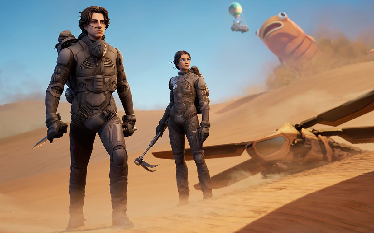 Fortnite adds some melange with new Dune crossover