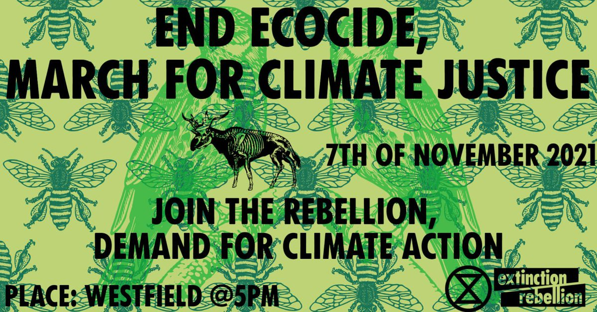 We are in times of climate and ecological emergency. Temperatures are soaring at deadly records, IPCC's clear report on #CodeRedForHumanity is a striking evidence. The science is true. Cop already failed 25 times and Cop26 may just be another failure. Join us, demand for action.