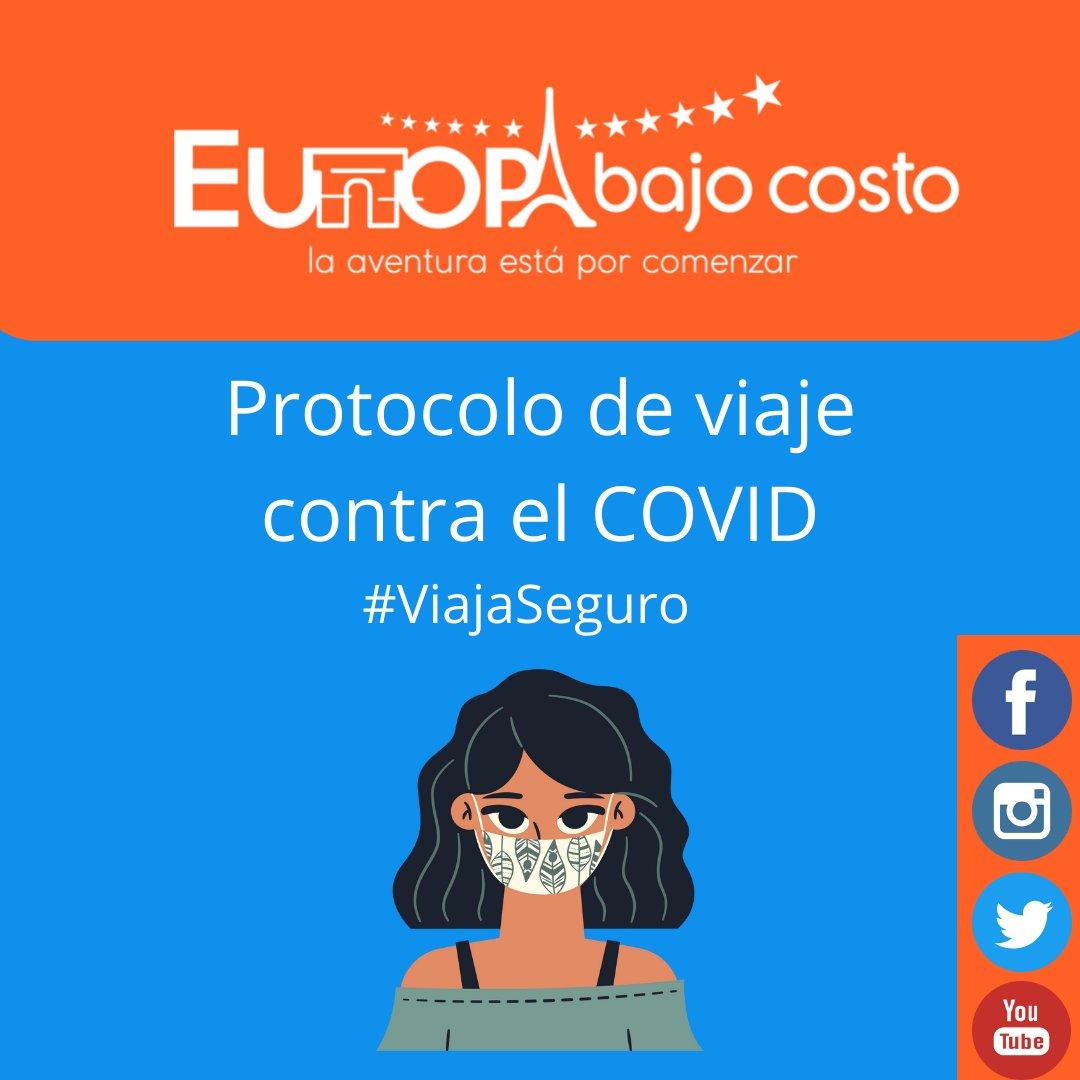 Europa Bajo Costo presenta su nueva campaña viaja turismo responsable en tiempos de COVID: