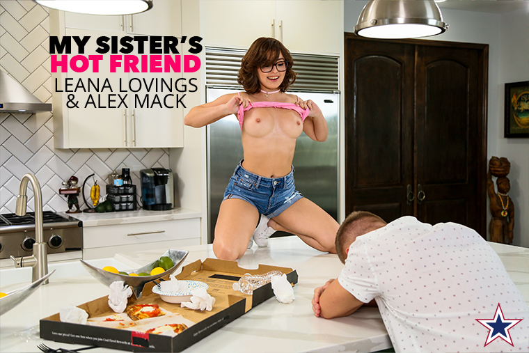 There's always an opportunity for a new beginning when you wake up after a rough night. Debuting @LeanaLovings gives that wonderful opportunity to @AlexMackXXX in NEW #MySistersHotFriend, out TODAY!