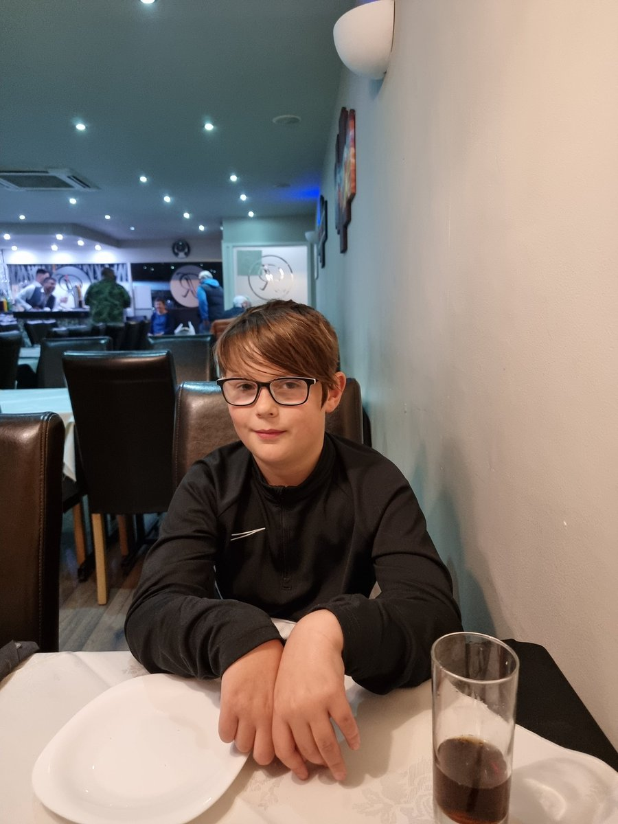 Boys night out in #Northwich for a curry- Relish, Ted approves.