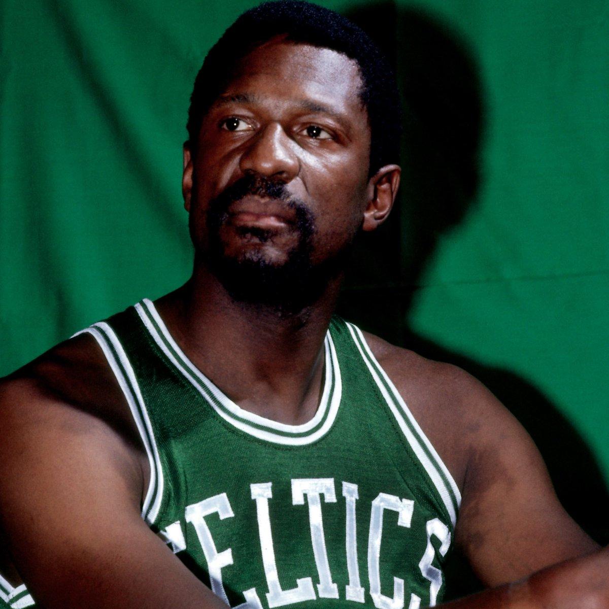 75th Anniversary Team member... Bill Russell! #NBA75
