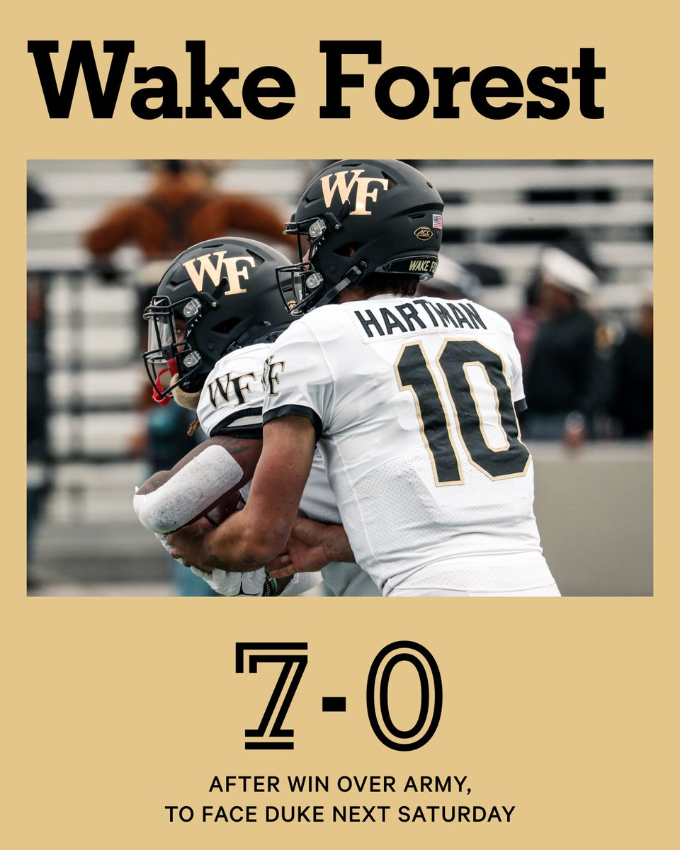 @TheAthleticCFB's photo on Wake Forest