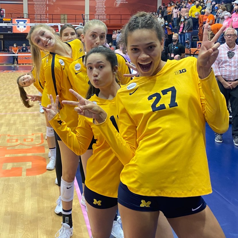 @umichvball's photo on #GoBlue