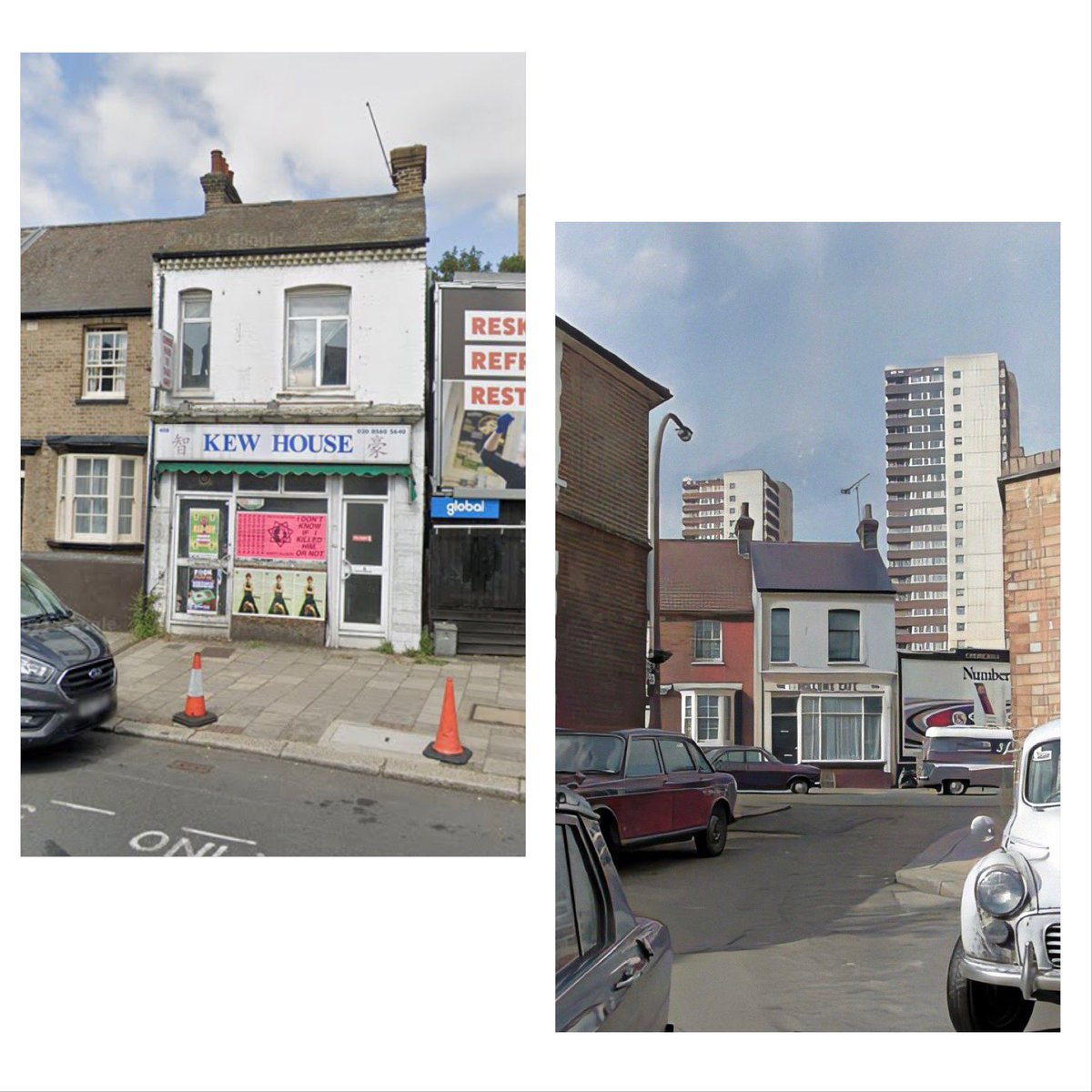 #Brentford now and then.