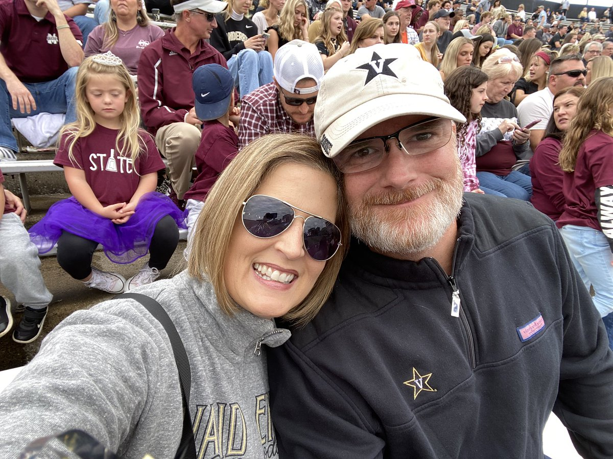 We might be in the belly of the beast but our hearts bleed 💛🖤💛🖤 black and gold #AnchorDown #vanderbilt #vandygram #vandymom