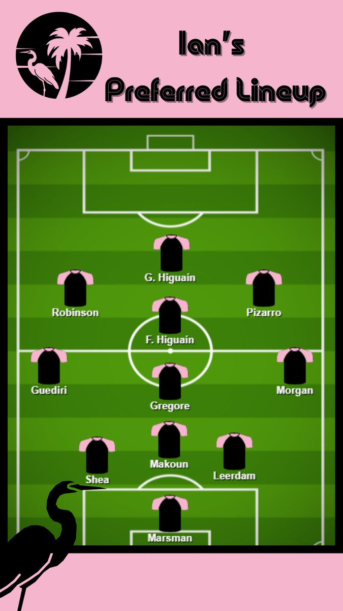 🔮Time for Preferences and Predictions!   Here's how @IanHest wants #InterMiamiCF to lineup versus how @aaw_1998, and @AustinRobillard want and predict the team will lineup vs. #FCCincy.   Give us your thoughts!💭 #LaFamiliaIMCF https://t.co/8FO9G61Dwp.