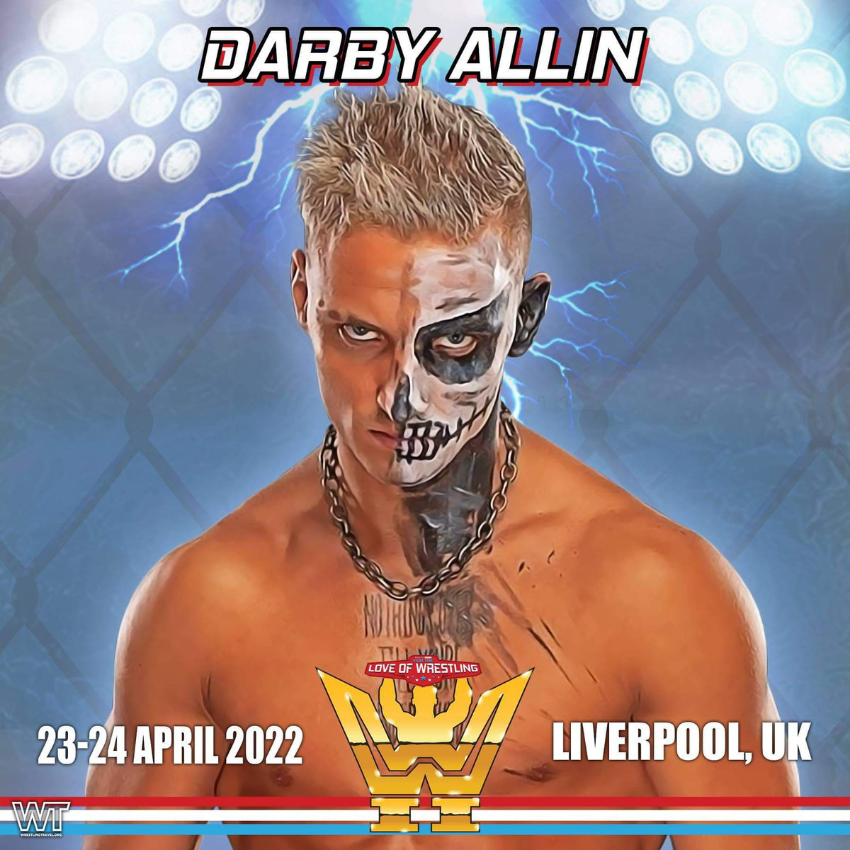 Current #AEW star and former TNT Champion @DarbyAllin is coming to FTLOW II next year  Photo and autograph tickets available here -    #DarbyAllin #AEWDynamite #AEWRampage #AEWonTNT #AEWFullGear #AllEliteWrestling #wrestling #ComicCon #Liverpool #FTLOW
