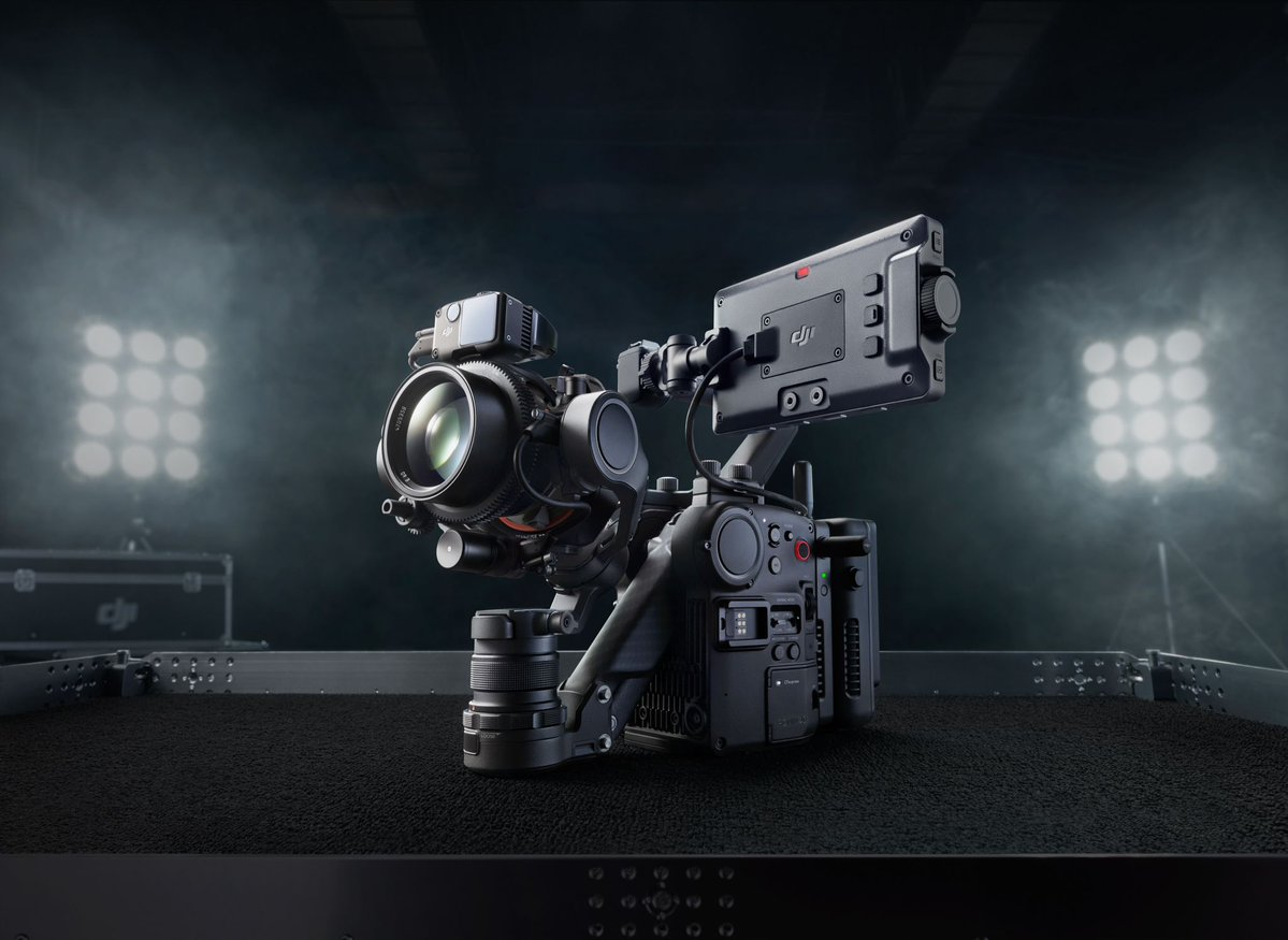 DJI is making a cinema camera with a built-in gimbal and LIDAR focusing