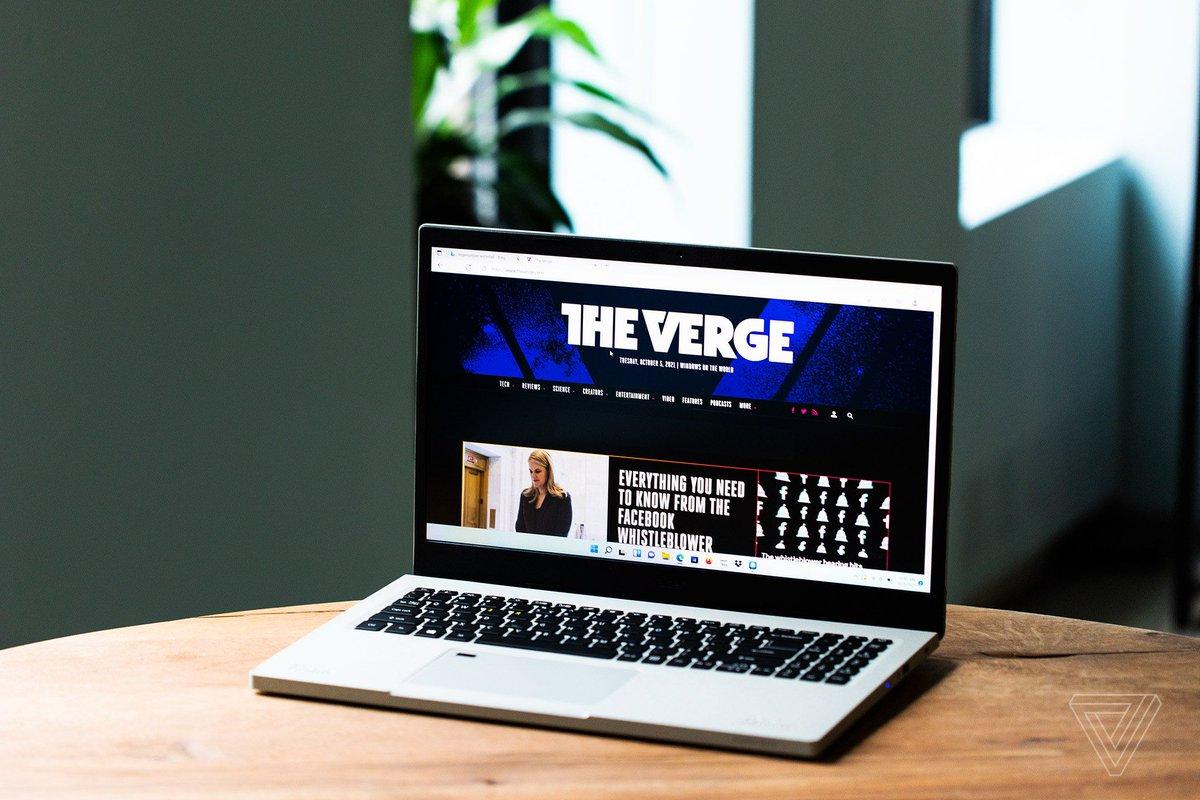 Acer Aspire Vero: for a better footprint, find a better laptop