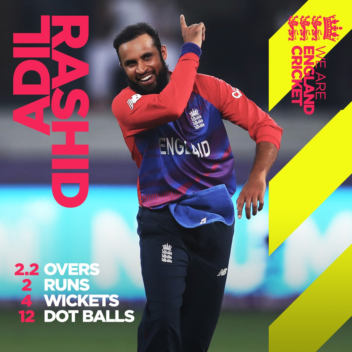 Our magician! 🎩  Describe Rash's performance from last night in just one word...  Highlights: https://t.co/0jkjpc1UhH  #T20WorldCup   #EnglandCricket https://t.co/jzkBQPpttb