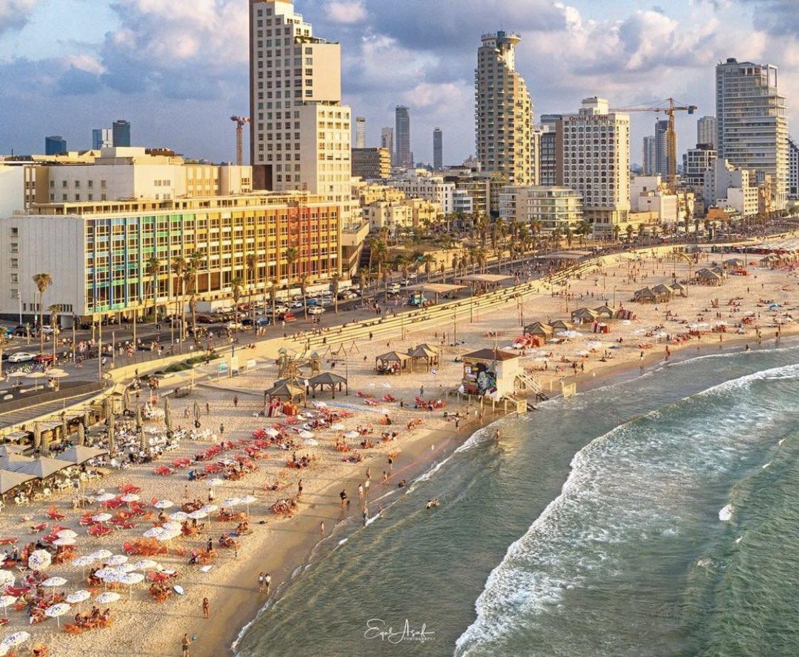 صباح الخير متابعينا وبداية اسبوع موفقة للجميع من مدينة تل ابيب التي تم  اختيارها كإحدى المدن الأكثر …