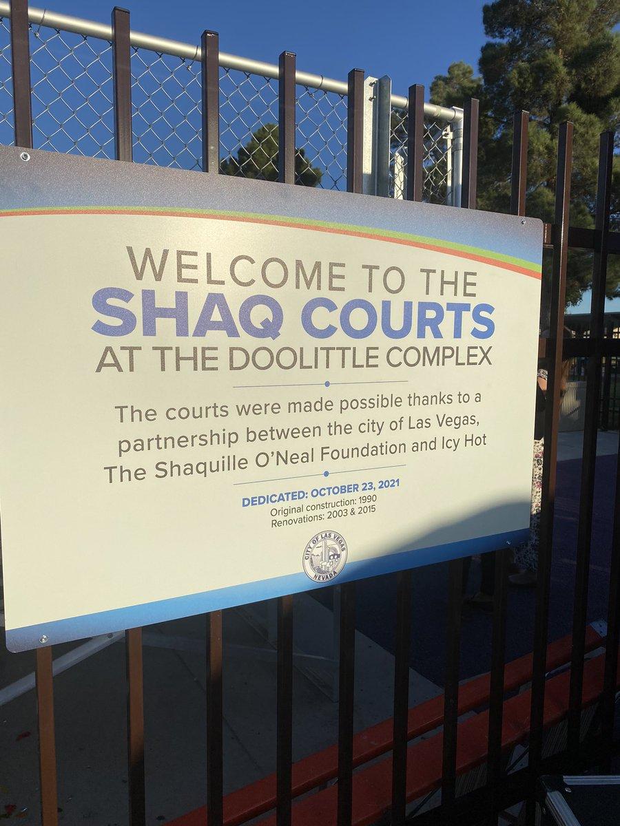 Way to go @shaqfoundation 🏀🏀