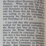 Image for the Tweet beginning: #OTD in 1961 the parliamentary