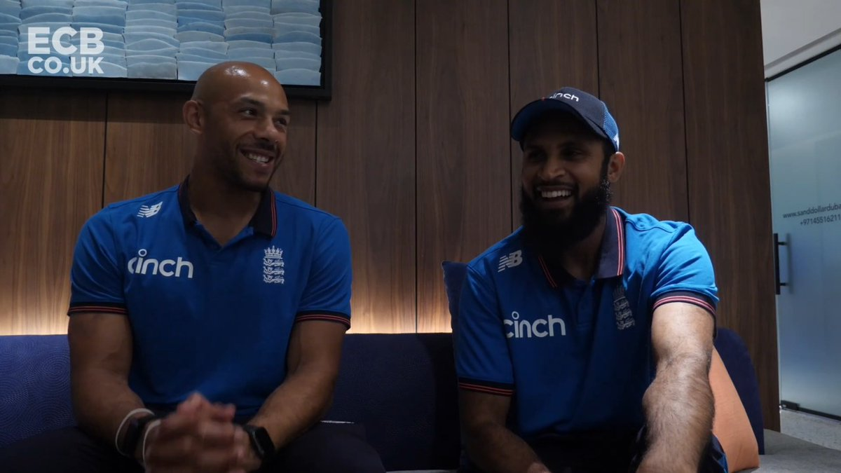"""""""77mph!? That's gas that!"""" 😅  Tymal & Rash chat #T20WorldCup  #MUFC v #LFC and more 👇 https://t.co/NGs7hkkI1T"""