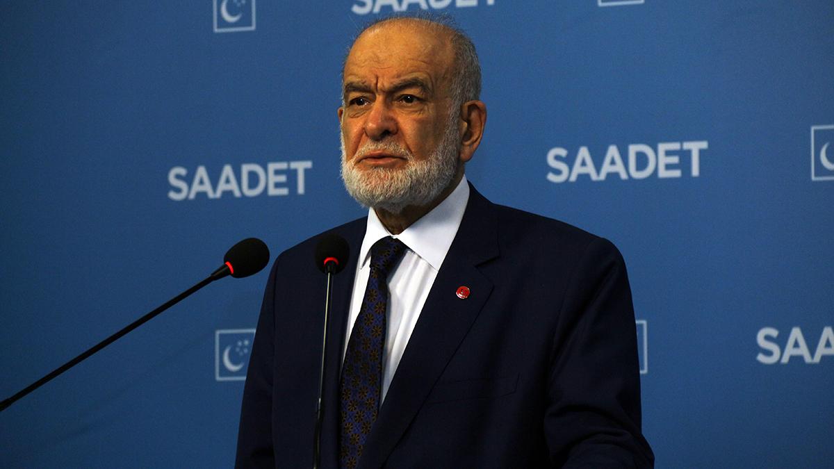 Son dakika | Saadet Partisi lideri Karamollaoğlu konuşuyor | CANLI  'Ermeni Katliamı yapıldı deniyor şimdi de. Hadi oradan be. Sahtekarlar. Ermenilere yüz yıllarca yaşama hakkını kim verdi? Osmanlı verdi'  karar.com/guncel-haberle…