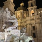 Image for the Tweet beginning: Evening stroll, Piazza Navona #Rome