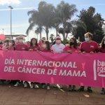 Image for the Tweet beginning: Algeciras se inunda de rosa