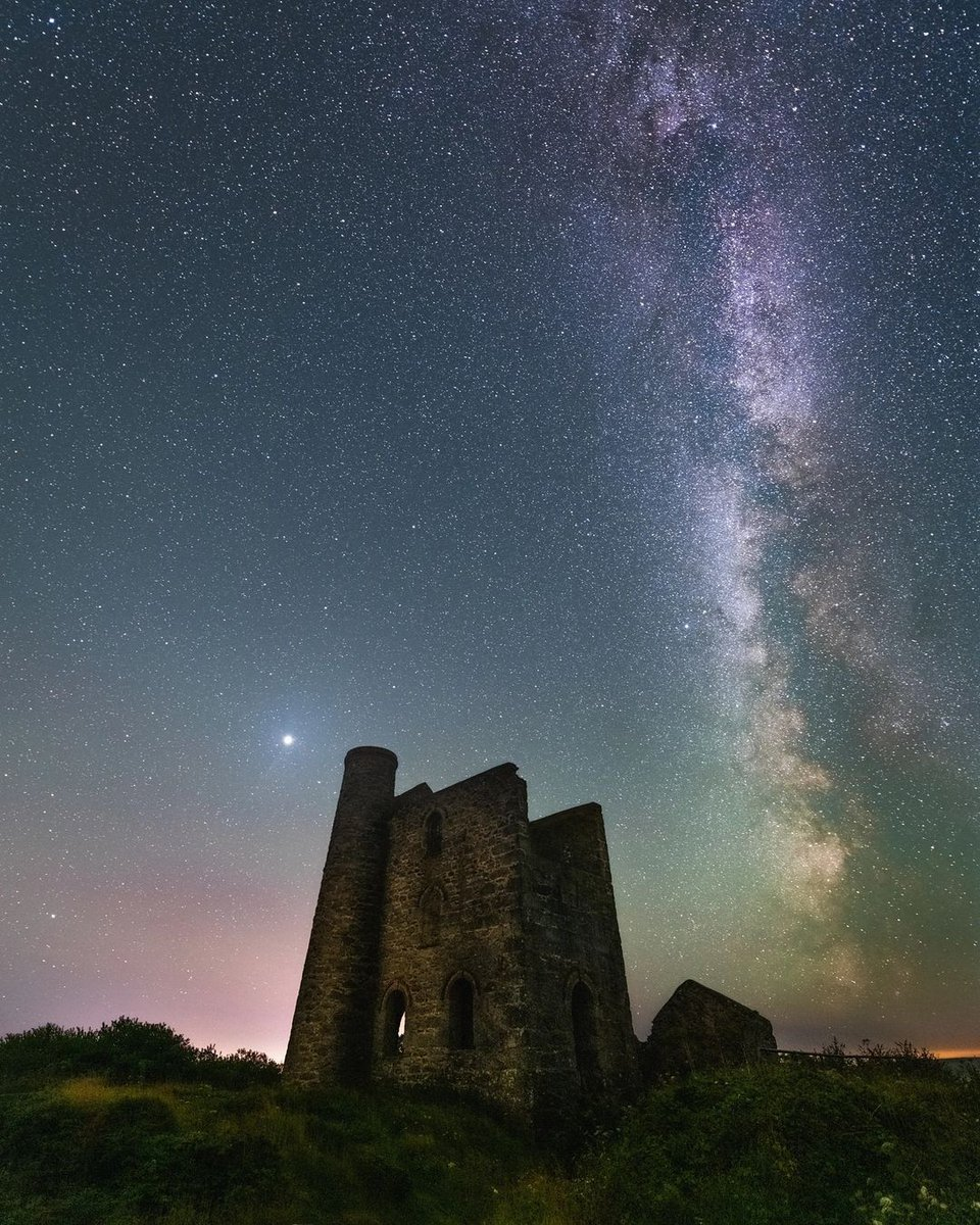 Credit to @danielmillington for this incredible photo of the milky way above a Cornish tin mine! ⛏️ . Follow 👉 for amazing #thingstodo inspiration in #cornwall.  . #cornwall  #explorecornwall #cornwalllife #lovecornwall #beautifulcornwall #astrophotography #milkyway