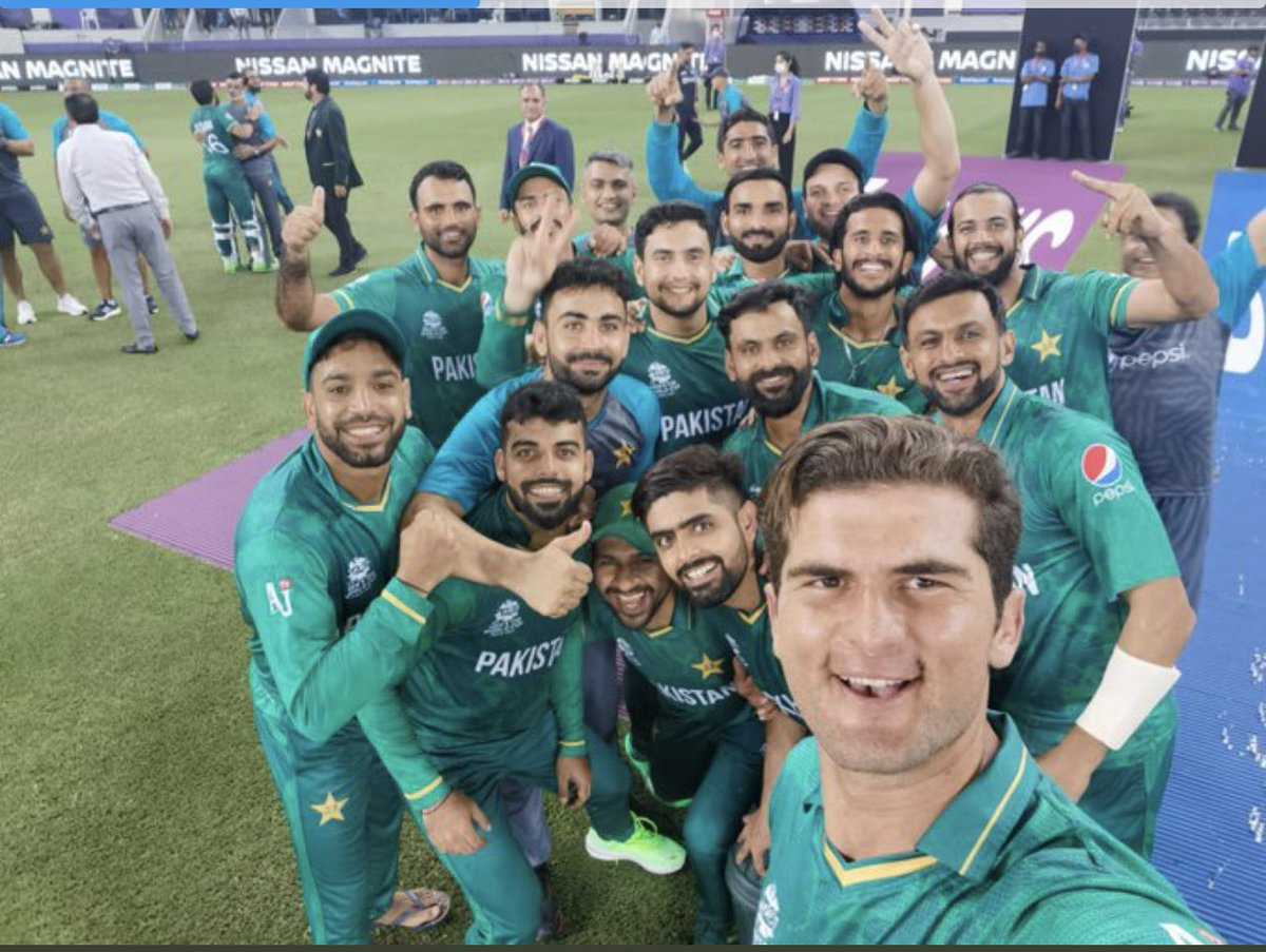 Selfie of the decade #PakvsIndia