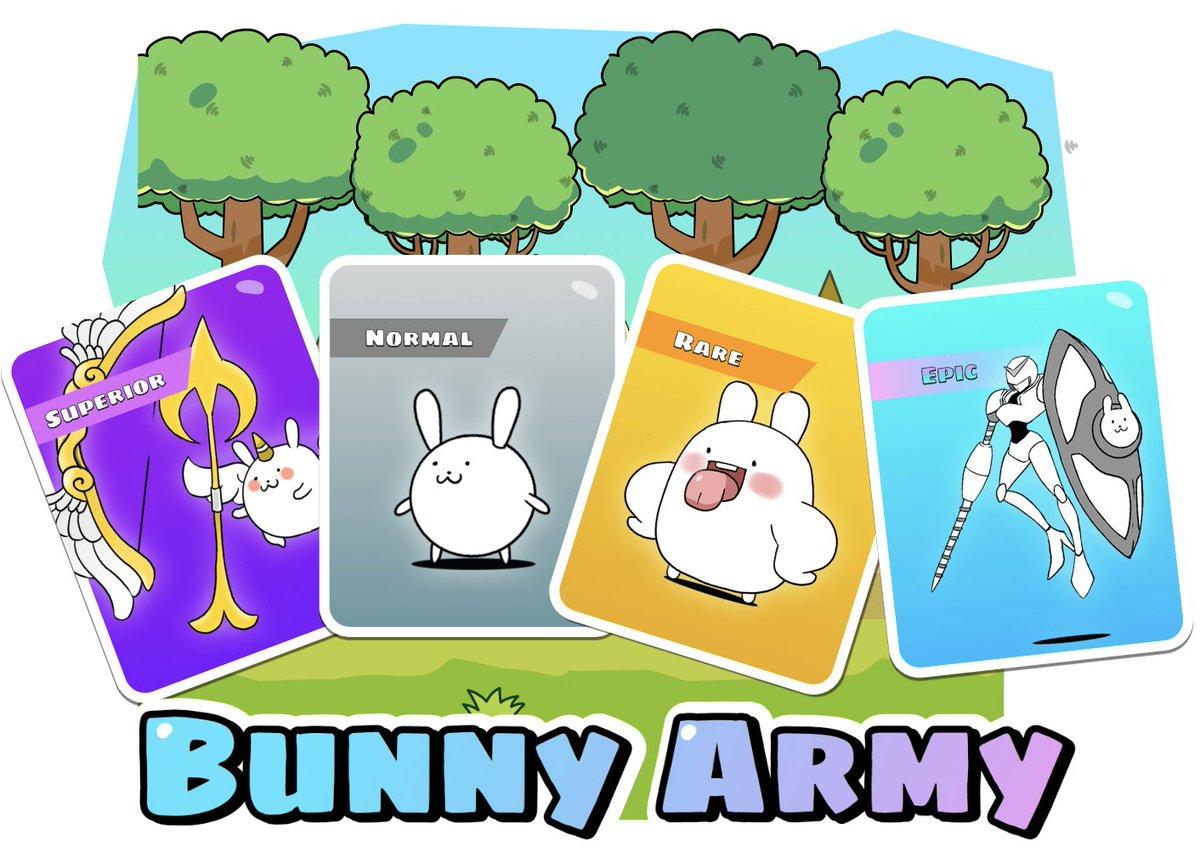 Gamefi 'Bunny Army' - sales price adjustment of NFT Mystery Box ⏰Oct 25 10:00 am UTC 🆙NFT Mystery Box price adjusted to $800 📢The first-generation bunnies are very rare 🎁:bunnyarmy.io #OEC #Gamefi @OKExChain @JayHao8