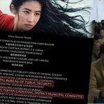 Image for the Tweet beginning: #BoycottMulan  #BoycottDisney  #Chinazi  #China_is_terrorist