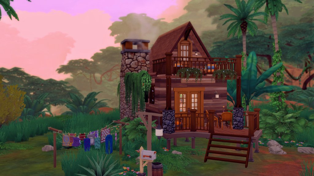 'Tiny' rental in Selvadorada 🌲  Gallery: amzzq  IG: sim.mers  #TheSims4 #TheSims #TS4 #XboxShare #xboxone @TheSims @TheSimCommunity @simmersdigest @simsnationmag https://t.co/WMfYTiLG0H