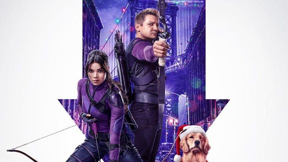 Hawkeye's New Poster Aims at Holiday Cheer