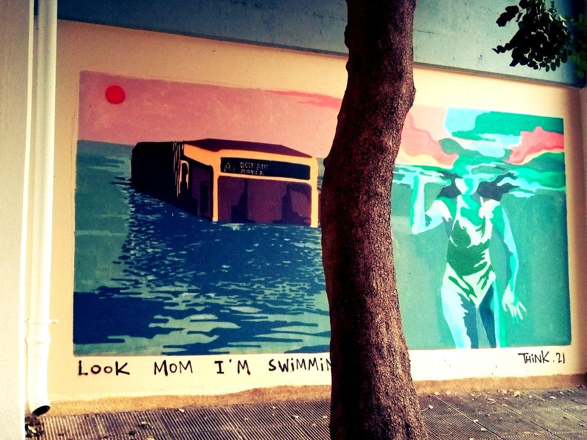 Η κακοκαιρία και η ανικανότητα Πατούλη εμπνέει την street art στην Ηλιούπολη