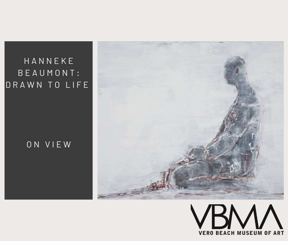 Take some time to see these beautiful drawings by #hannekebeaumont, and then enjoy her #sculpture Bronze #56 in the sculpture park. #artist #sculptor #humanfigure #installation #contemporaryart #figuration #art #vbma #verobeach #ThingsToDo #indianriver