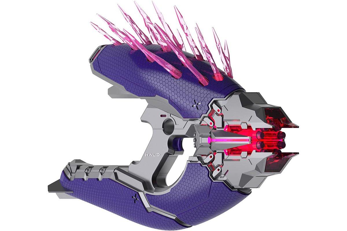 Hasbro unveils 'ultimate' Nerf version of the Halo Needler gun