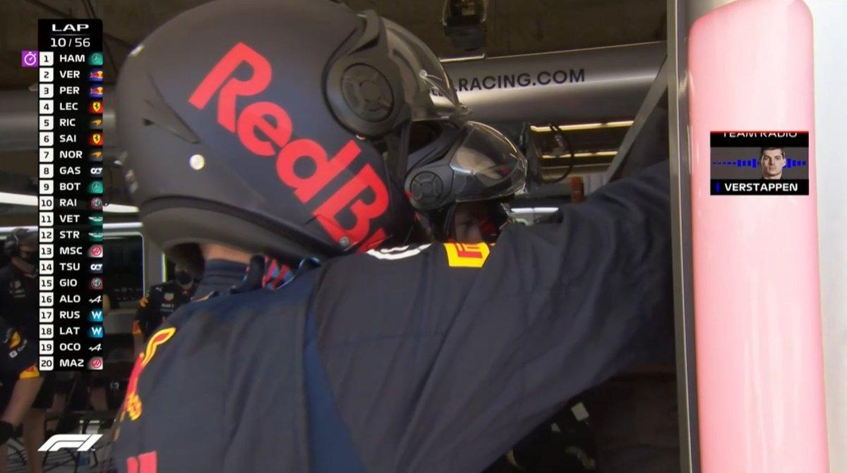 📻Max Verstappen: ''Lastikler çok ısındı! Hızımız iyi değil!''  #USGP   #F1