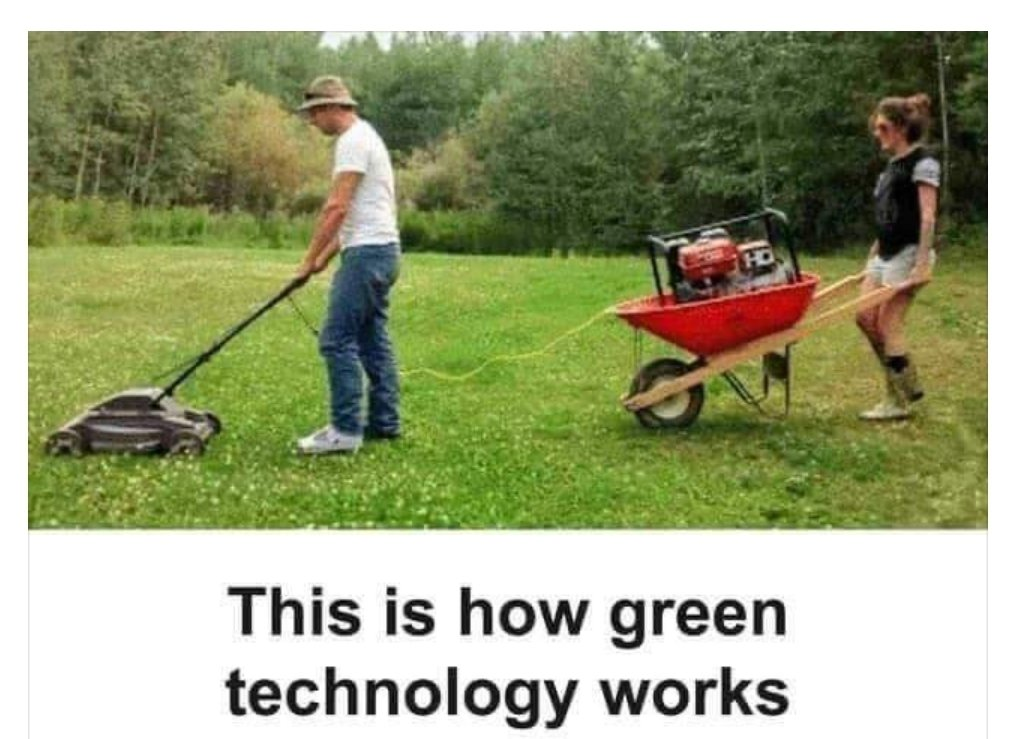 This is how green energy works:
