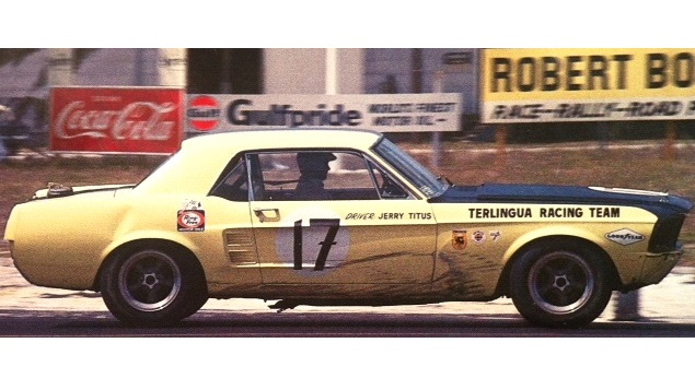 Jerry Titus would have been 93 today #RIP Jerry Titus won the 1967 Trans-Am championship driving Carroll Shelby's Mustang. In January 1968, Titus won the NASCAR Late Model Sportsman race at Riverside. #MrTransAm 🏁