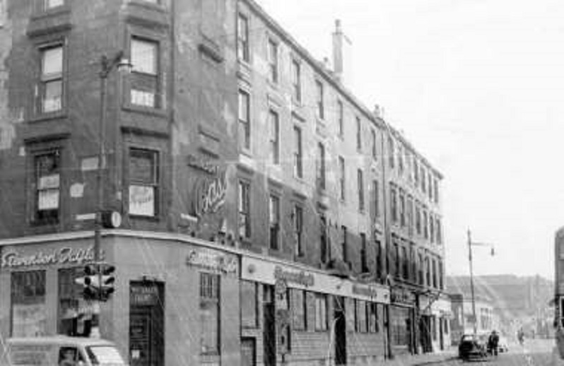 #Shoap - Stevie Taylor's, Buchanan Street at Parly Road, #Glasgow, 1963. (Mitchell)