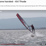 Image for the Tweet beginning: Former freestyle windsurfing World Champ