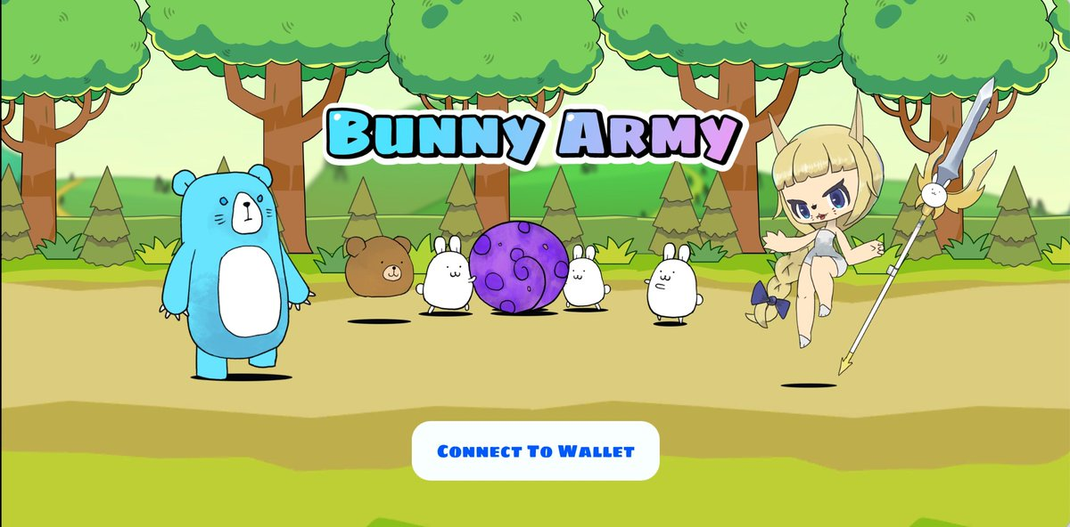 📙Bunny Army-Game Strategy Upgrading bunnies, castles, cannons and magic potion are the key resources to victory! App supports Android, Windows and Mac 📢 We are well prepared to ensure that everyone can participate. 12:00 pm UTC tonight Start Fighting! #OEC @OKExChain #GameFi