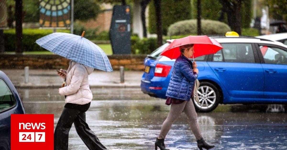Καιρός: Χαμηλές θερμοκρασίες, βροχές και ενισχυμένοι άνεμοι: Κάτωαπό τα κανονικά επίπεδα η θερμοκρασία τις επόμενες ημέρες. Αναλυτικά η πρόγνωση του καιρού από τον διευθυντή της ΕΜΥ Θοδωρή Κολυδά. dlvr.it/SBDP7Y #καιρός #weather