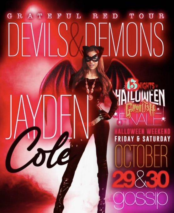 #Halloween weekend!!! 🔮🖤😈 melville • long island • new york @GossipLI https://t.co/c9P1naCYor