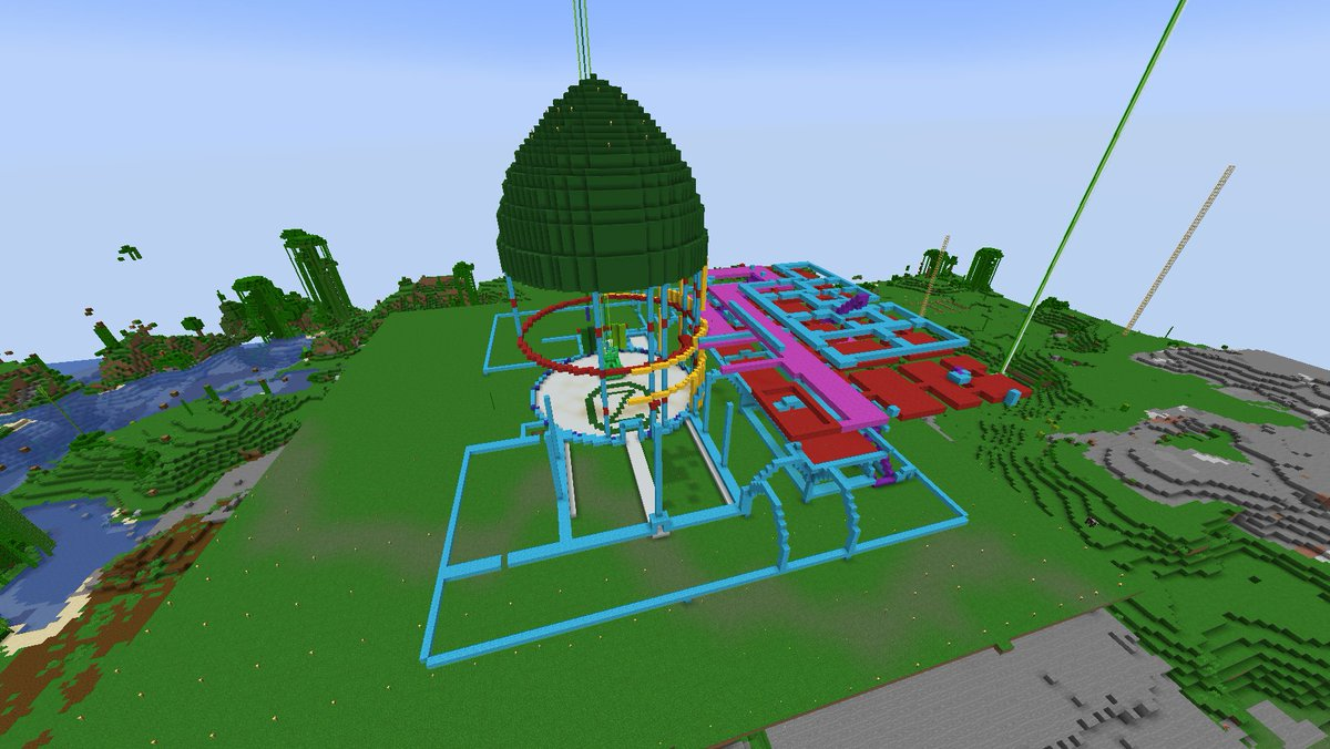 More interior layouts for the Royal Palace tonight! Dad jokes handed out to @Emjay__x and @JMOtheSchmo thanks to some lovely raids!  Sent the love over to @highitsky_ when we were done! #minecraft #twitchstreaming #wizardofoz #twitchaffiliate #streaming