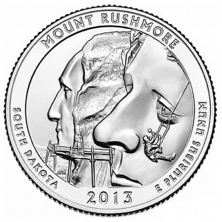 Take a look at this 2013-P Mount Rushmore National Memorial Quarter  Only : $2.25  https://t.co/gmALCzbIQ8 https://t.co/XX0fxKBogx
