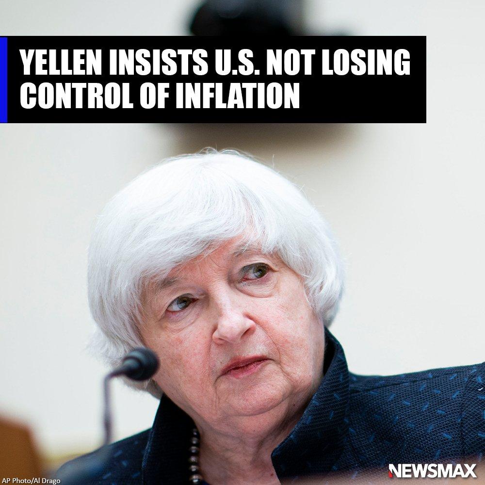 @newsmax's photo on Yellen