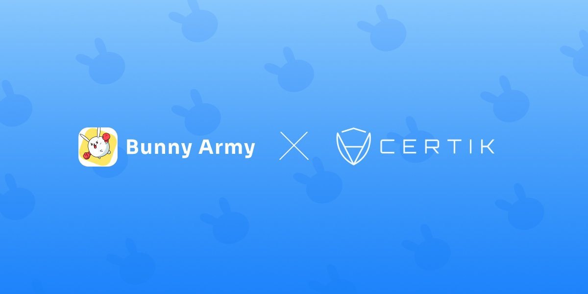 Bunny Army smart contract code has passed the top audit institution of the world @certik_io 🛡️Protect all participants and make Gamefi more secure. Audit report link:certik.org/projects/bunny… #OEC @OKExChain @JayHao8 #Gamefi